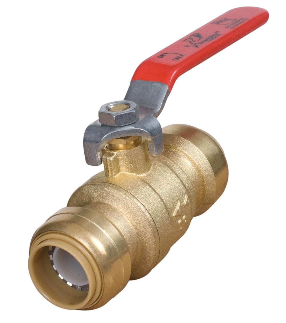 Valve pex mm sharkbite fittings pipe