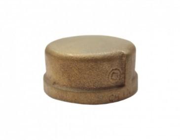 CAP BRASS THD 10MM
