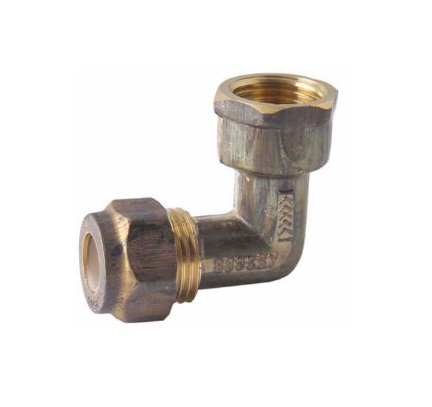 Copper Elbow Compression 20mm x 20mm Female