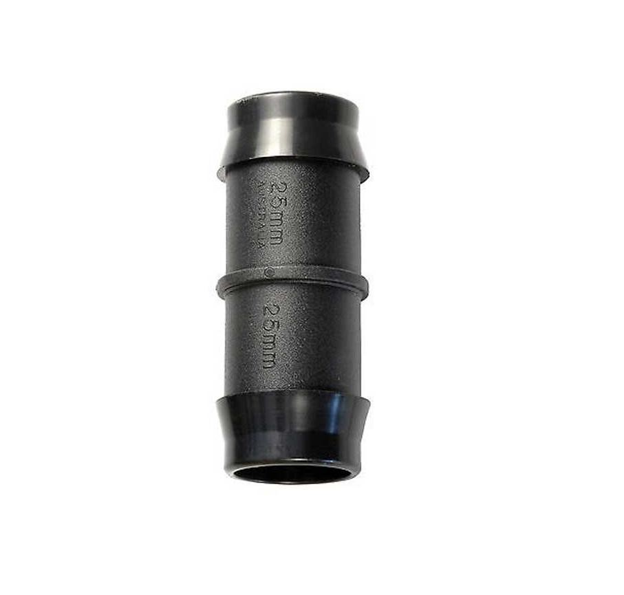 Joiner poly barbed mm irrigation soft fittings