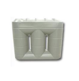 Water Tank Poly Slimline 790mm W x 2170mm H x 2570mm L 3,000 Lt