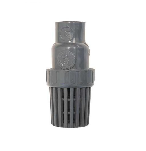 Valve Foot Threaded and Slip PVC