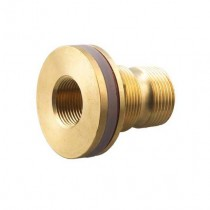 Brass Tank Outlet 50mm Male x 40mm Female
