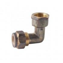 Copper Elbow Compression 20mm x 20mm Female