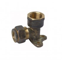 Copper Elbow Compression Lugged 15x15mm Female