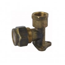 Copper Elbow Compression Lugged 20x15mm Female