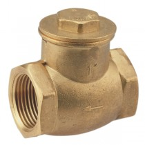 VALVE CHECK BRASS SWING 25MM