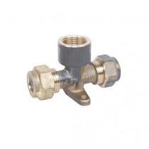 Copper Tee Compression Lugged 15x15x15 Female