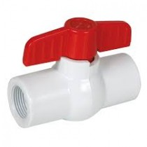 Valve Ball PVC Threaded