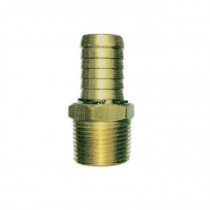 Brass Director Hose With Swivel Barb 25mm